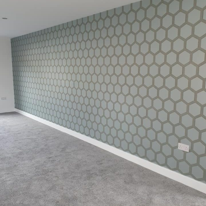 Wallpapered Showhouse